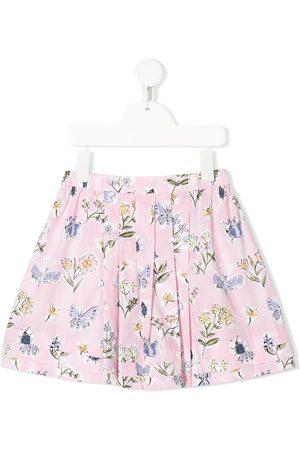 il-gufo-floral-print-skirt