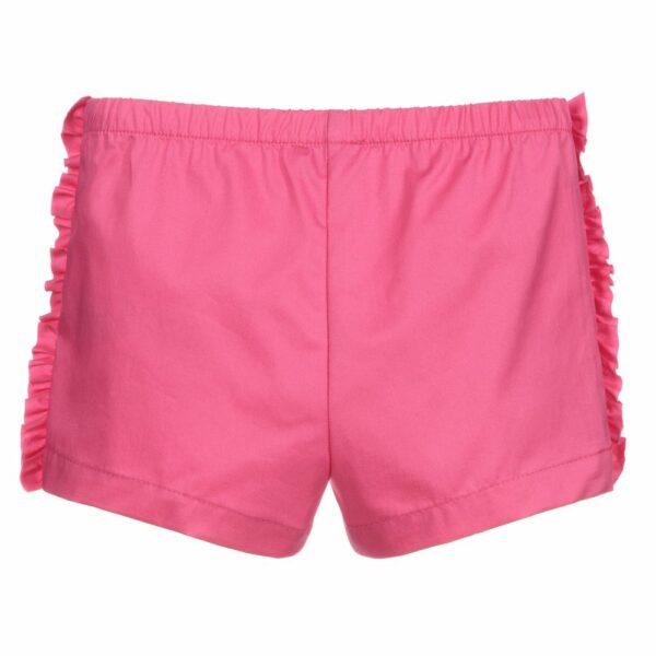 il-gufo-girls-pink-cotton-shorts-364737-be8ae55af6d96f6e321a85593c11ac17601b916b