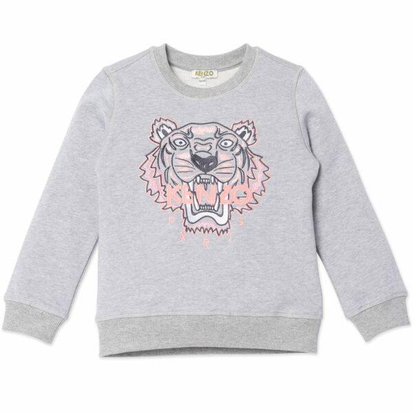 K15069-kenzo-sweatshirt-grey-marl-graa-tiger-p